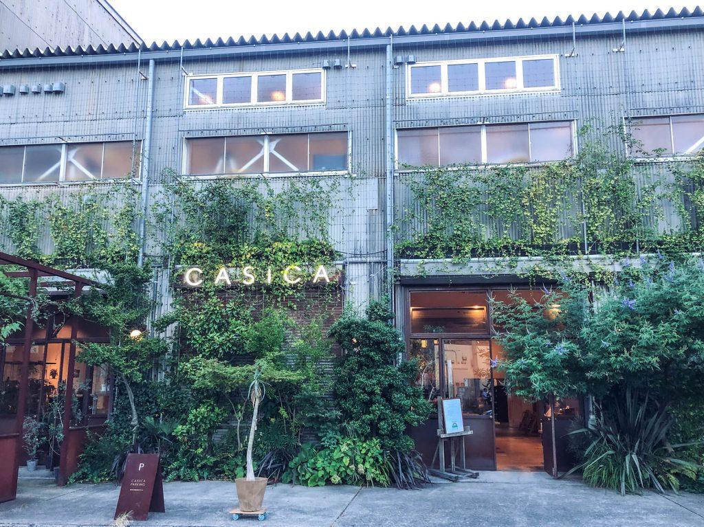 個人客を向かい入れるショップ「CASICA」